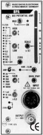 PLUGSYS Biopotential Amplifier Module (BPA)