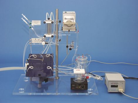 PSCI with operating table for in situ perfusion